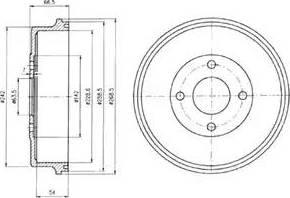 Delphi BF314 - Piduritrummel multiparts.ee