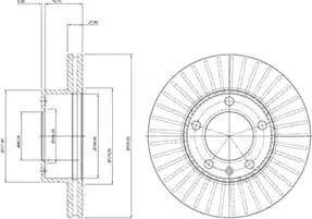 Delphi BG9692 - Piduriketas multiparts.ee