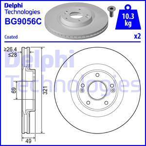 Delphi BG9056C - Piduriketas multiparts.ee