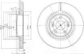 Delphi BG9016 - Piduriketas multiparts.ee