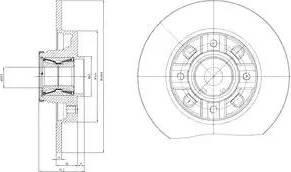 Delphi BG9116RSC - Piduriketas multiparts.ee