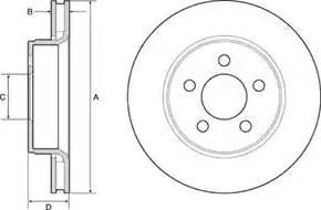 Delphi BG4642 - Piduriketas multiparts.ee