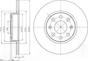 Delphi BG4155 - Piduriketas multiparts.ee