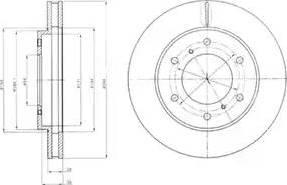 Delphi BG4257 - Piduriketas multiparts.ee
