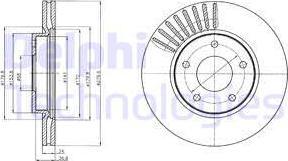 Delphi BG4282C - Piduriketas multiparts.ee
