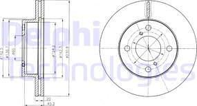 Delphi BG4271C - Piduriketas multiparts.ee