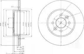 Delphi BG3992 - Piduriketas multiparts.ee