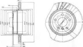 Delphi BG3943 - Piduriketas multiparts.ee