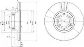 Delphi BG3553 - Piduriketas multiparts.ee