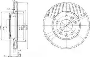 Delphi BG3563 - Piduriketas multiparts.ee