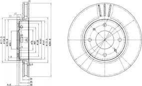 Delphi BG3501 - Piduriketas multiparts.ee