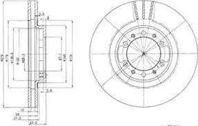 Delphi BG3099 - Piduriketas multiparts.ee