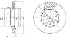 Delphi BG3142 - Piduriketas multiparts.ee