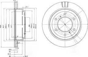 Delphi BG3813 - Piduriketas multiparts.ee