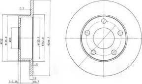 Delphi BG3381C - Piduriketas multiparts.ee