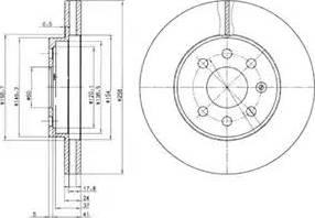 Delphi BG3334 - Piduriketas multiparts.ee