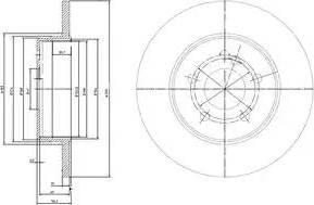 Delphi BG3208-C - Piduriketas multiparts.ee