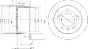 Delphi BG3235 - Piduriketas multiparts.ee