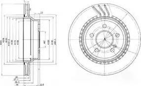 Delphi BG3758 - Piduriketas multiparts.ee