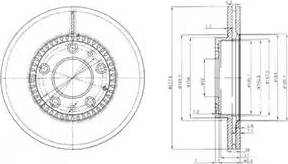 Delphi BG3724 - Piduriketas multiparts.ee