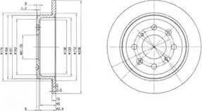 Delphi BG2538 - Piduriketas multiparts.ee