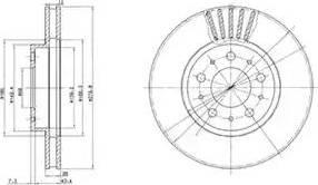 Delphi BG2841 - Piduriketas multiparts.ee