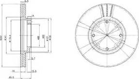 Delphi BG2394 - Piduriketas multiparts.ee