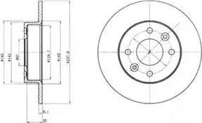 Delphi BG2258 - Piduriketas multiparts.ee