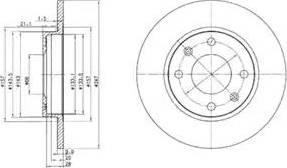 Delphi BG2213 - Piduriketas multiparts.ee
