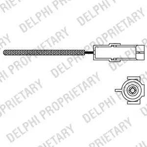 Delphi ES10966-12B1 - Lambda andur multiparts.ee