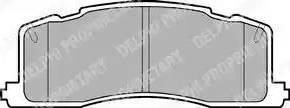Delphi LP943 - Piduriklotsi komplekt,ketaspidur multiparts.ee
