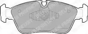 Delphi LP1925 - Piduriklotsi komplekt,ketaspidur multiparts.ee