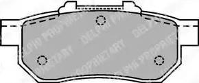 Delphi LP1456 - Piduriklotsi komplekt,ketaspidur multiparts.ee