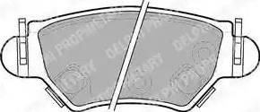 Delphi LP1553 - Piduriklotsi komplekt,ketaspidur multiparts.ee