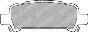 Delphi LP1509 - Piduriklotsi komplekt,ketaspidur multiparts.ee