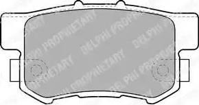 Delphi LP1507 - Piduriklotsi komplekt,ketaspidur multiparts.ee