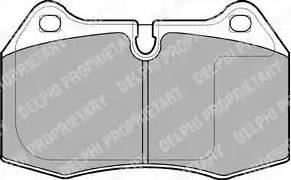 Delphi LP1584 - Piduriklotsi komplekt,ketaspidur multiparts.ee