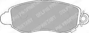 Delphi LP1582 - Piduriklotsi komplekt,ketaspidur multiparts.ee