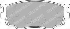 Delphi LP1527 - Piduriklotsi komplekt,ketaspidur multiparts.ee