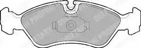 Delphi LP1605 - Piduriklotsi komplekt,ketaspidur multiparts.ee