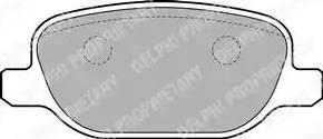 Delphi LP1845 - Piduriklotsi komplekt,ketaspidur multiparts.ee