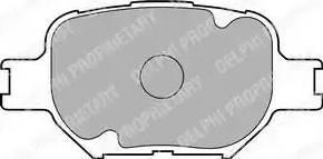 Delphi LP1804 - Piduriklotsi komplekt,ketaspidur multiparts.ee