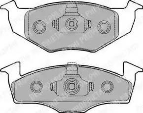 Delphi LP1249 - Piduriklotsi komplekt,ketaspidur multiparts.ee