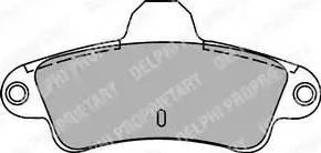 Delphi LP1242 - Piduriklotsi komplekt,ketaspidur multiparts.ee
