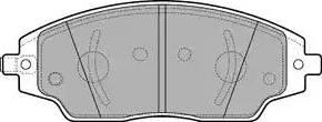 Delphi LP3192 - Piduriklotsi komplekt,ketaspidur multiparts.ee