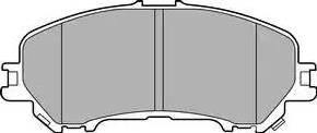 Delphi LP3144 - Piduriklotsi komplekt,ketaspidur multiparts.ee