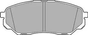 Delphi LP3186 - Piduriklotsi komplekt,ketaspidur multiparts.ee