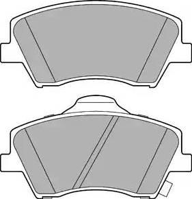 Delphi LP3264 - Piduriklotsi komplekt,ketaspidur multiparts.ee