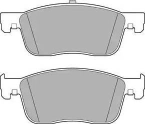 Delphi LP3260 - Piduriklotsi komplekt,ketaspidur multiparts.ee