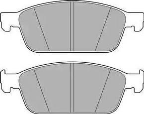 Delphi LP2495 - Piduriklotsi komplekt,ketaspidur multiparts.ee